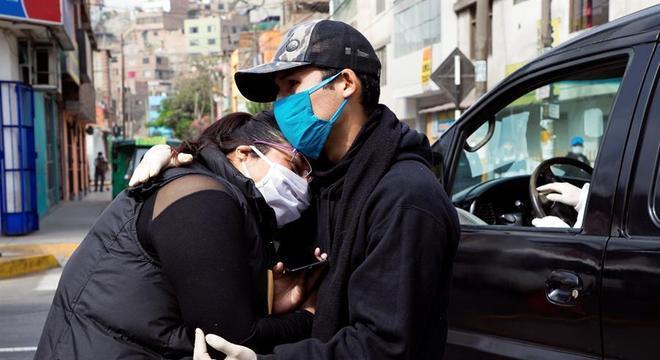 O Peru é o segundo país da América Latina com mais casos confirmados de covid-19