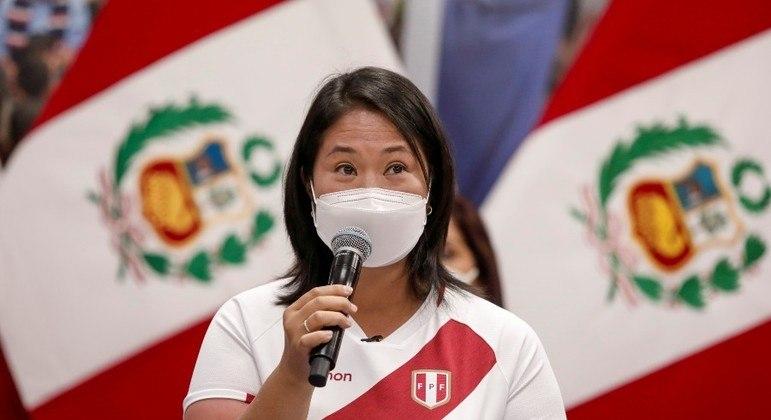 Keiko Fujimori nega as acusações de tentativa de suborno