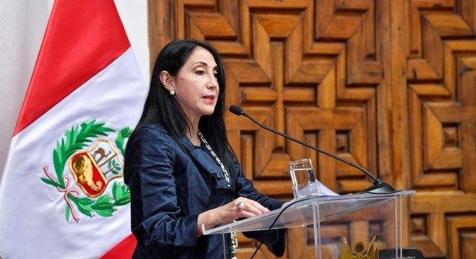 Ministra das Relações Exteriores, Elizabeth Astete entregou o cargo no domingo