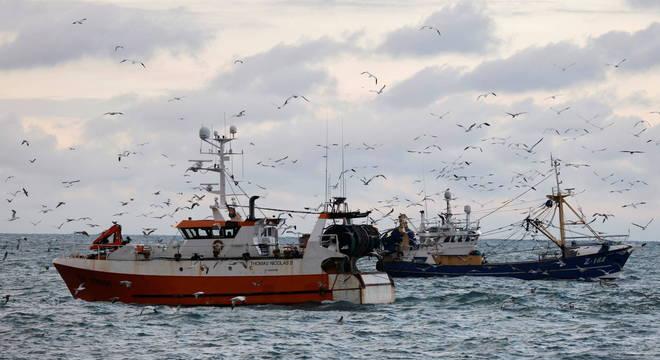 Pesca e uso de águas britânicas emperram  acordo
