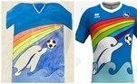 Pescara, camisa golfinho