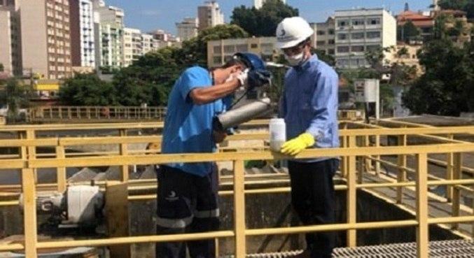 Pesquisadores coletaram amostras em duas estações de esgoto de Niterói