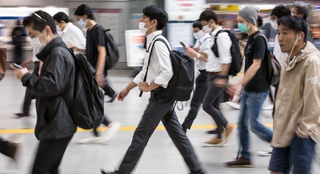 Durante a epidemia de Sars, o Japão foi um dos países menos afetados
