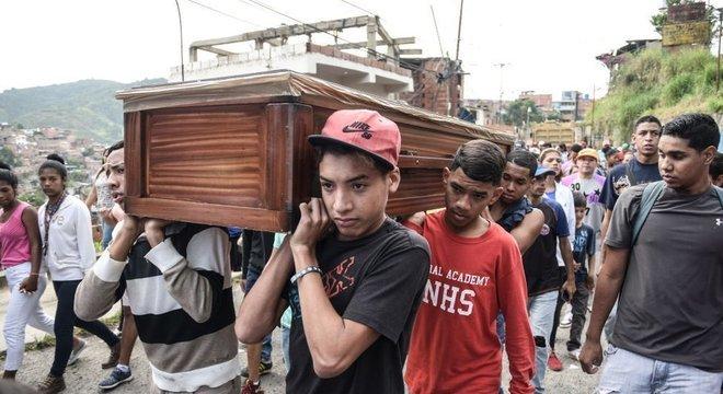 O Observatório Venezuelano da Violência prevê que o país fique este ano na liderança como o mais violento da América Latina