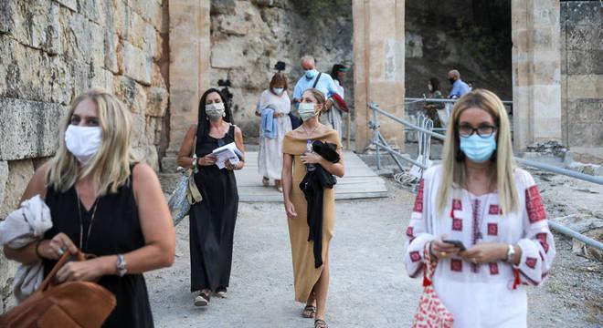 Número de casos cresce na Grécia desde julho