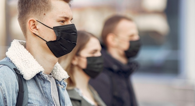 Pessoas físicas flagradas sem máscaras sem multadas em R$ 500