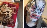 Uma vilã, então, nem se fala! Melhor optar pelas máscaras de argila se quiser evitar surpresas desagradáveisVeja mais:Mulher revela como é morar em um castelo medieval sem eletricidade