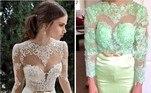 Um vestido de noiva pode custar bem mais barato se comprado pela internet, mas talvez o risco não compense