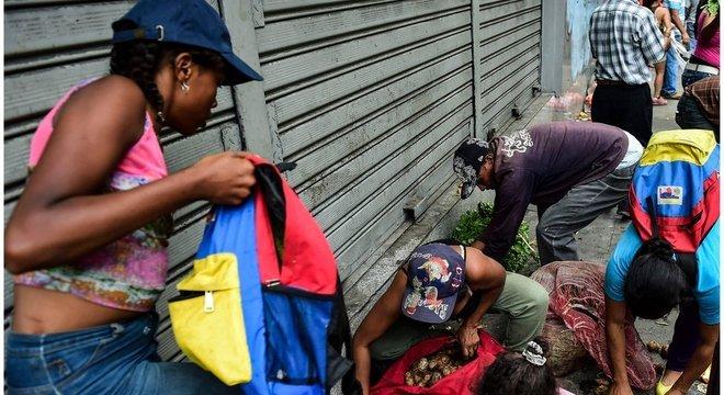 A crise econômica levou milhões de venezuelanos ao exílio