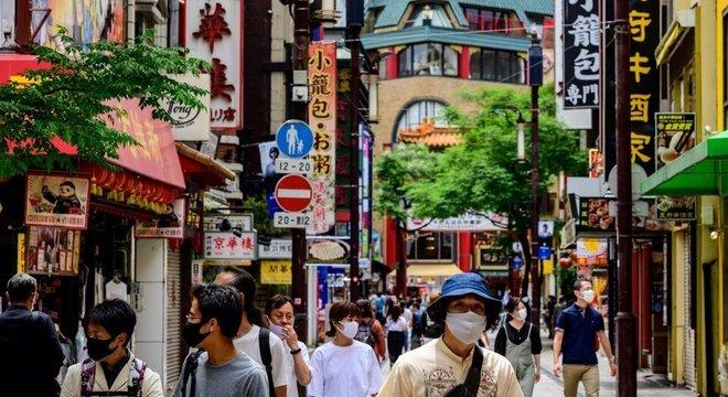 No Japão, a maior parte dos estabelecimentos está reaberta e a vida volta ao normal