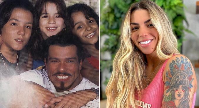 A influenciadora Petra fez homenagem para a família nas redes sociais