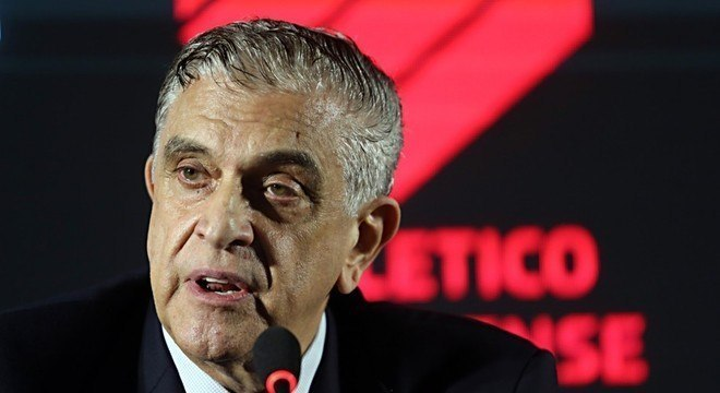 Mario Celso Petraglia, 'homem-forte' do Athletico resolveu enfrentar a Globo