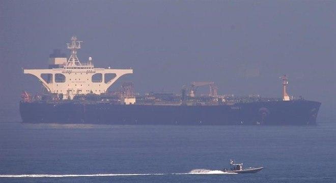O petroleiro iraniano Grace 1 foi apreendido há mais de um mês em Gibraltar