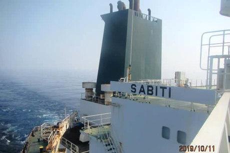 Petroleiro iraniano no Mar Vermelho