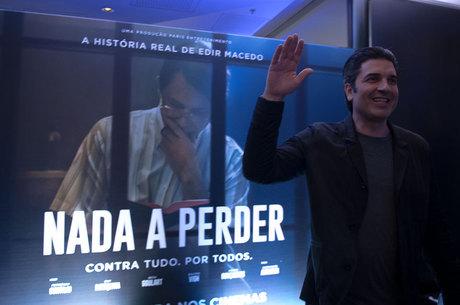 Edu Guedes também esteve no lançamento do filme