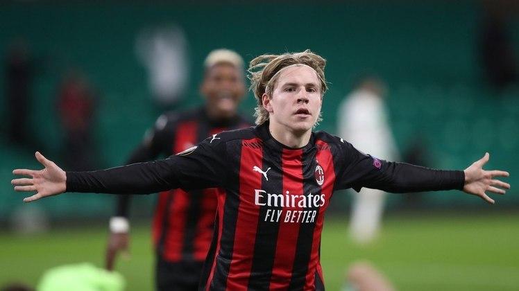 Petter Hauge - 21 anos: O norueguês é uma aposta do Milan para o futuro e se destacou na fase de grupos da Liga Europa, com três gols marcados.
