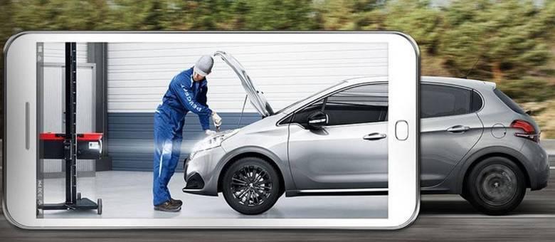 Revisão na rede de concessionários Peugeot que desde 2017 adota o programa Total Care