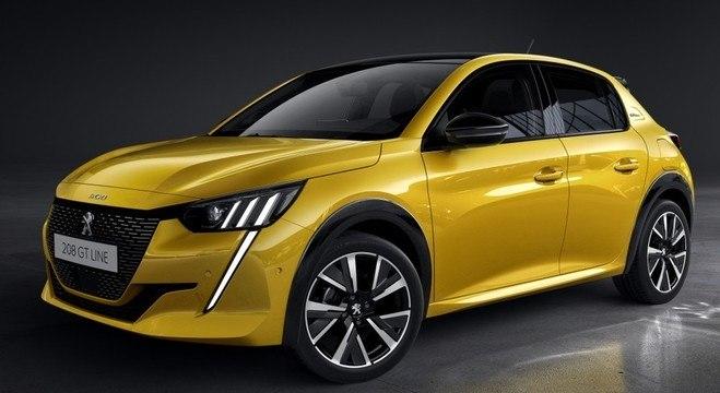 Versão GT Line do arrojado Peugeot 208 que estará disponível no mercado Europeu