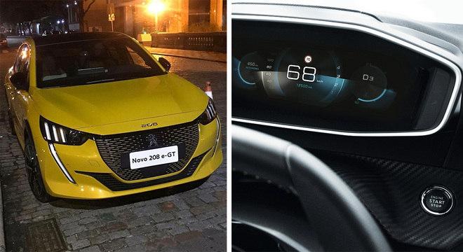 Peugeot e-GT é a versão elétrica que também está confirmada para o mercado brasileiro