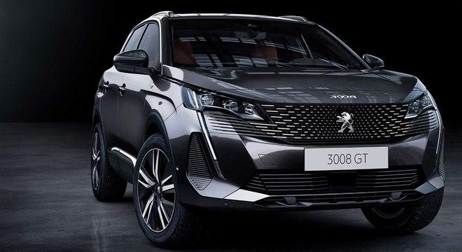 Peugeot 3008 foi revelado hoje na Europa e deve chegar ao Brasil no próximo ano