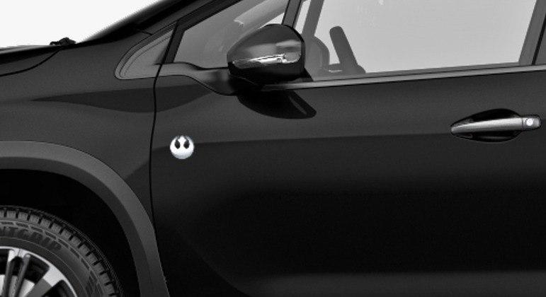 SUV ganhou detalhes exclusivos como emblema cromado