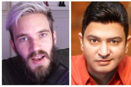 PewDiePie pode perder reinado para canal indiano