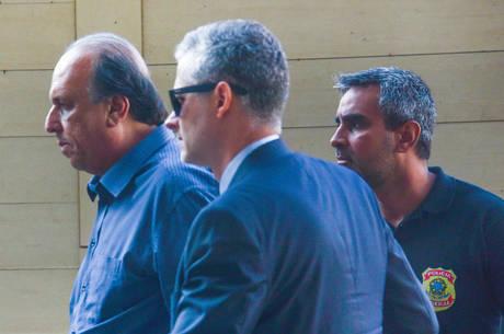 Pezão foi preso na manhã desta quinta-feira