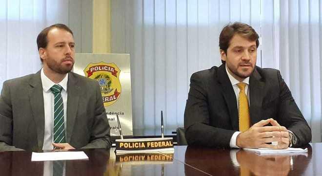 Delegado Luiz Augusto Pessoa Noronha (à direita) conduz as investigações