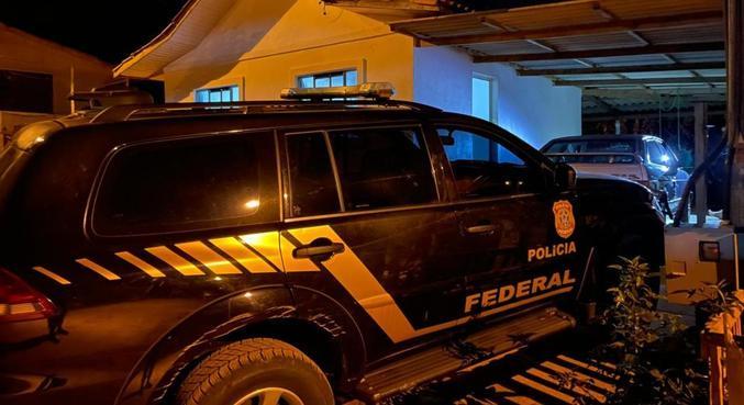 PF busca no Sul grupo que lavava dinheiro do tráfico e da prostituição