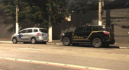 PF cumpre cinco mandados no estado de São Paulo