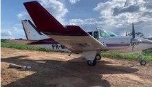 PF e FAB interceptam avião com 500 kg de cocaína em Porto Velho (RO)