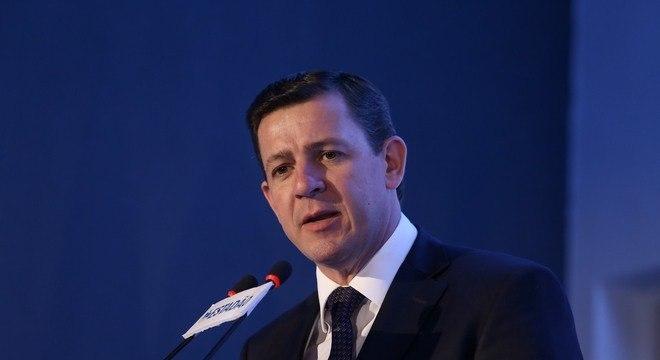 O prefeito Orlando Morando lidera pesquisa em São Bernardo