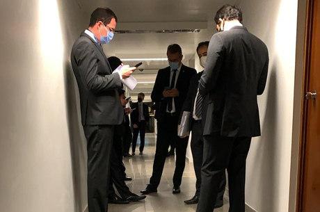 PF teve problemas para entrar em gabinete de Serra