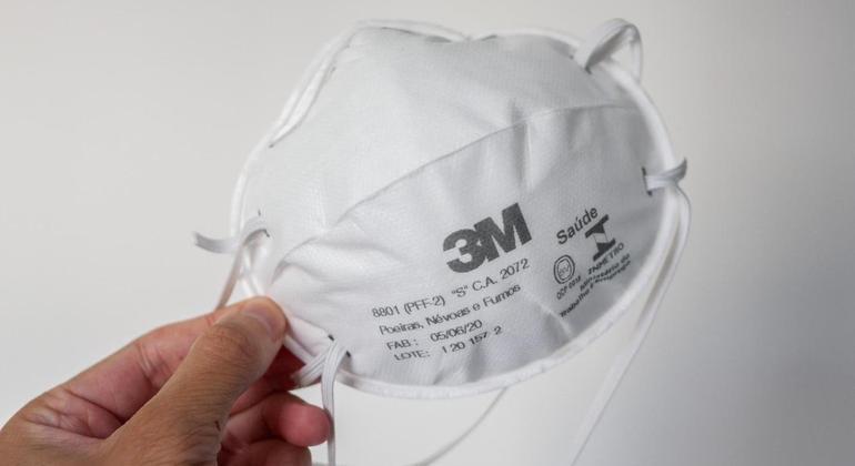 Máscaras do tipo PFF2 podem ser reutilizadas