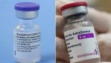 Duas doses de AstraZeneca ou Pfizer combatem variante Delta
