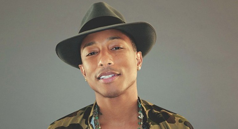 Cantor, compositor e produtor musical, Pharrell Williams