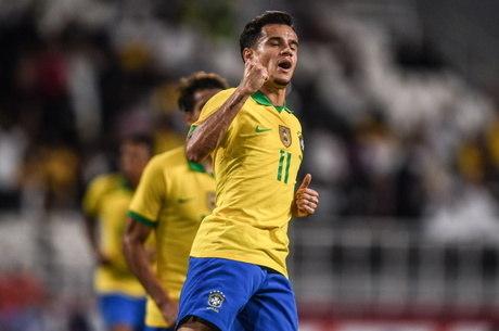 Coutinho fez segundo gol do Brasil