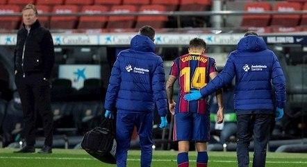 Jogador sofreu lesão no menisco