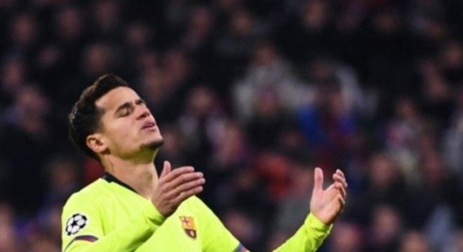 Philippe Coutinho - Lyon x Barcelona