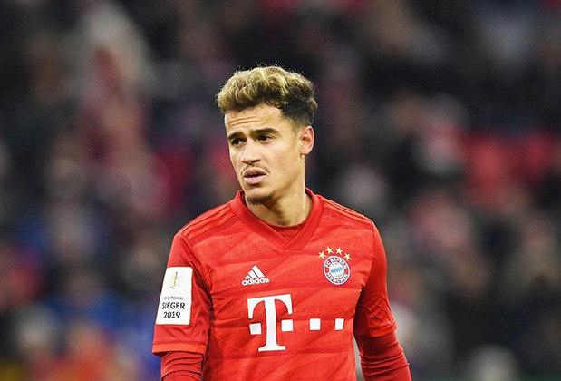Philippe Coutinho, meia - Bayern de Munique - 2020