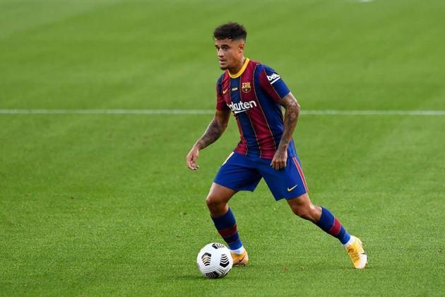 PHILIPPE COUTINHO: O meio-campista é jogador do Barcelona, atualmente