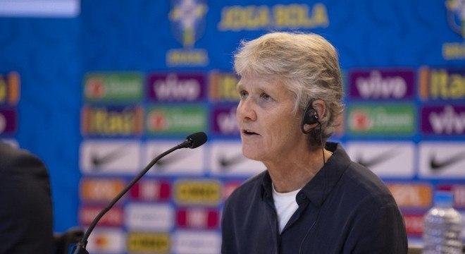 Pia Sindhage, técnica da seleção brasileira feminina