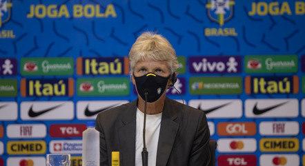 Brasil, da técnica Pia, joga em 13 e 31 de setembro