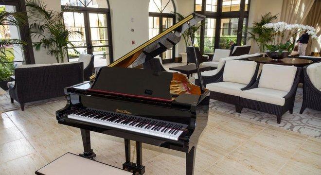 Como é possível roubar um piano de cauda?