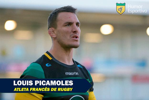 Nomes inusitados do esporte: Louis Picamoles