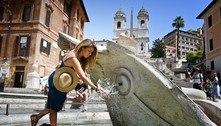 Itália: pico de calor faz termômetros chegarem perto de 50ºC