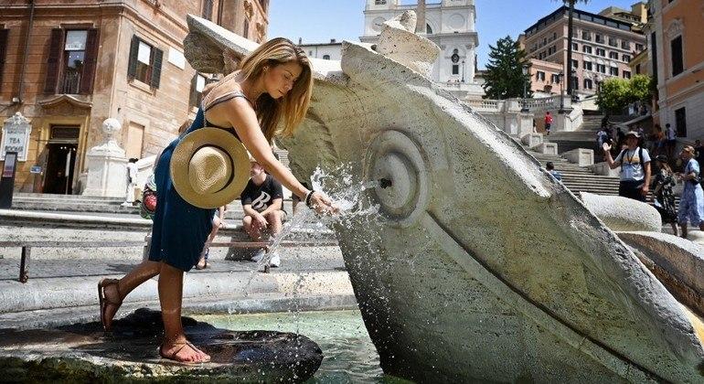 Itália deve registrar temperaturas perto dos 50ºC na semana mais quente do verão