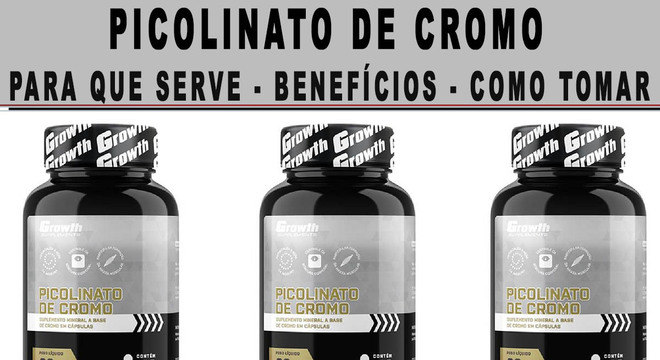 Picolinato de cromo emagrece benefícios