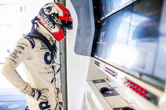 Pierre Gasly alcançou o Q3 mais uma vez, mantendo o bom ritmo na temporada