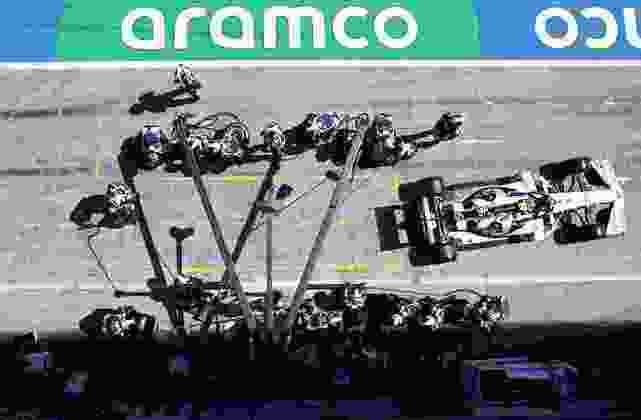 Pierre Gasly em parada durante o GP da Áustria de Fórmula 1
